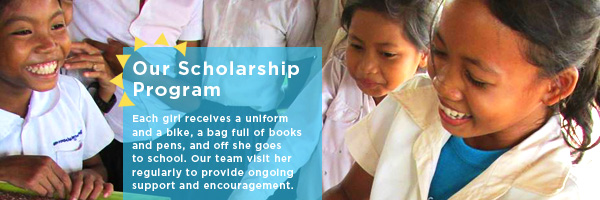 Home Page - Our Scholarship Program